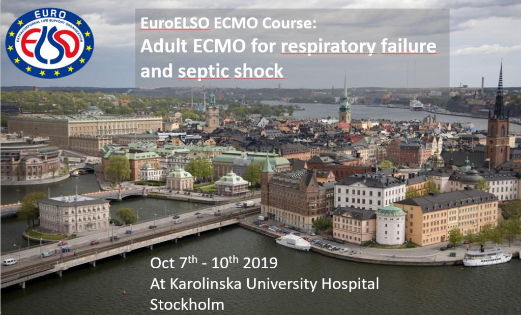 ECMO Course Stockholm